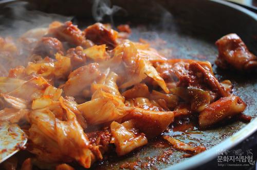춘천 닭갈비 맛집 통나무집 닭갈비