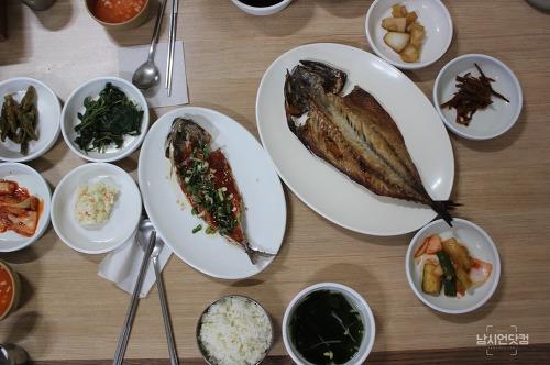 안동 월영교 맛집 안동댐간고등어직영식당