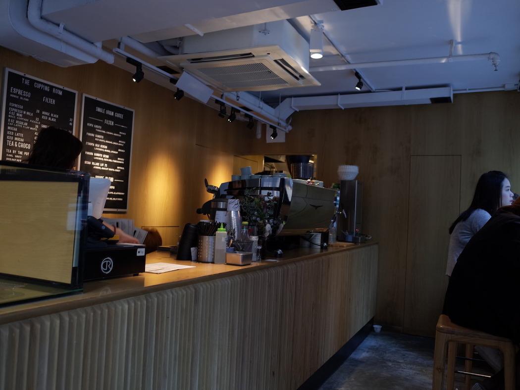 홍콩, The Cupping Room Central, 홍콩 카페 커핑룸