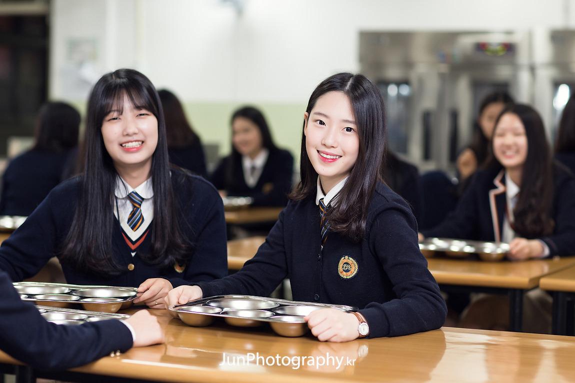 정화여자상업고등학교 홍보사진 촬영
