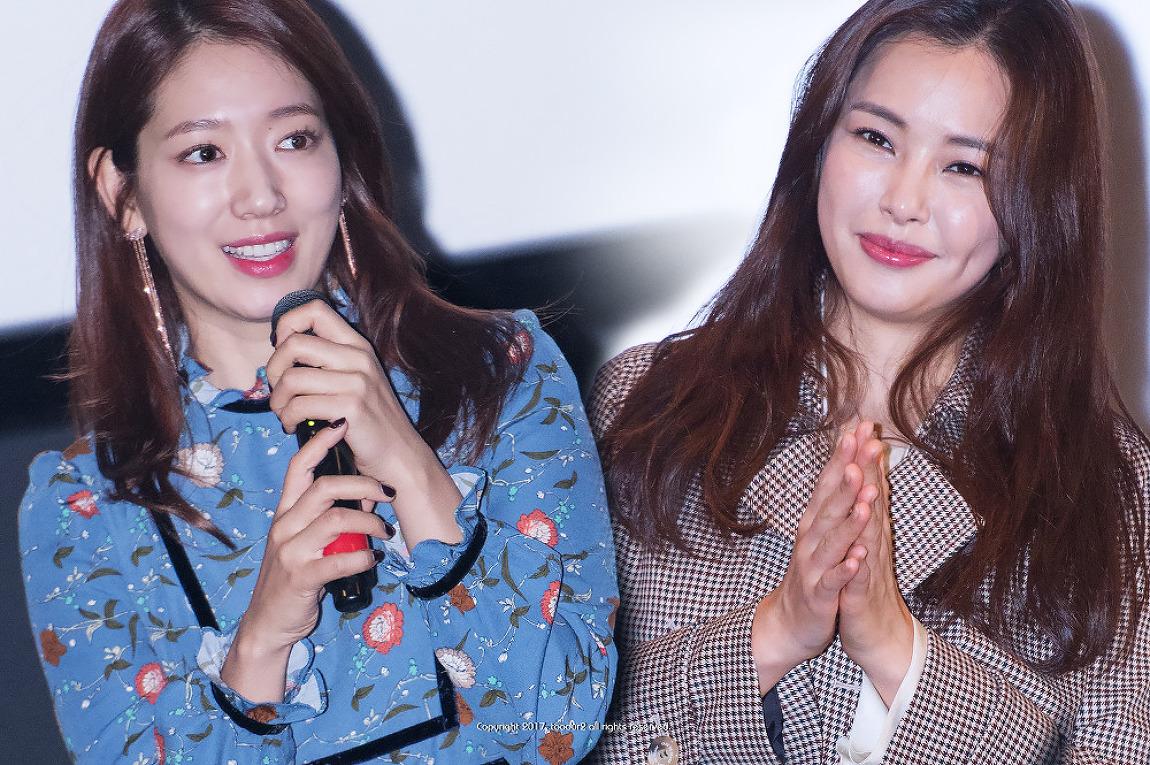 이하늬 & 박신혜: 영화 '침묵' 부산 무대인사