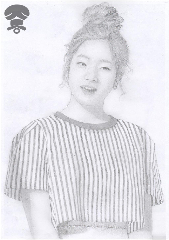 [드로잉] 트와이스[TWICE] - 다현 - 포카리 콘서트 中