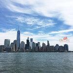 [뉴저지 저지시티] 허드슨강 너머 보이는 뉴욕