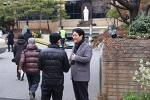 [20161218] 미아동 성당 앞, 의정보고서 배포