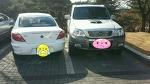[사고처리후기] 주차된 테라칸차량 범퍼손상 리오차량 보상처리