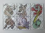 다양한 매직 폴딩 큐브들