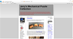 제리의 기계적 퍼즐 콜렉션 (Jerry's Mechanical Puzzle Collection)