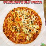 건대 피자 맛집 - 페르시안걸프 피자 ♪ 독특한 풍미가 있는 양고기믹스피자