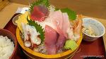 本日のお刺身定食 ( 築地食堂 源 ちゃん )