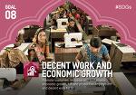 """제24호 - 지속가능발전목표(SDGs) 목표 8번 [""""Decent Work and Economic Growth. 양질의 일자리와 경제 성장""""]"""