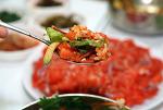제천 청풍호 청풍 맛집  송어 회덮밥과  산채 비빔밥. '어서오세요 아이고 반갑지요'