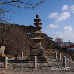 [충남 태안] 남문리 오층석탑 ( 문화재자료 제201호 )