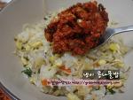 간단하고 맛있는 겨울별미밥, 냉이콩나물밥~