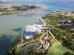 깨끗하고 맑은 친환경 도시 싱가포르를 거닐다