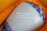 W79. 도자기 병  -여기저기 알튐및 가마유- (1.8kg)