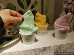 일본 백화점에서 본 만지면 향기나는 손수건