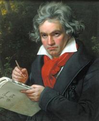 가장 강렬한 슈틸러의 '베토벤 초상화'