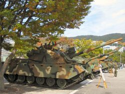 [한국] 한국의 M48 계열 개량 전차들 구분점.