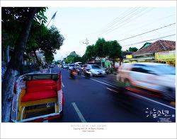 인도네시아 족자카르타 여행 - 족자카르타의 메인 거리인 말리오보로 거리를 걸어다니며