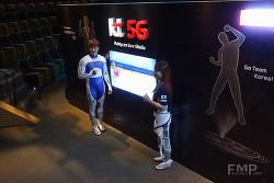 리우올림픽 KT 국가대표팀 선수들의 홀로그램 응원 영상 촬영장 스케치