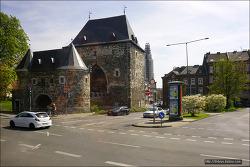 <아헨>성벽출입문 - 폰트문과 마르쉬어 문.