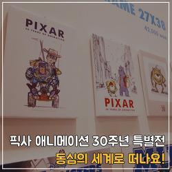 [2017년 4월 수요감상회] '픽사 애니메이션 30주년 특별전' 동심의 세계로♪