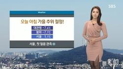 151031 SBS 정주희 기상캐스터