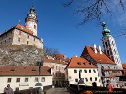 1602 동유럽, 발칸 패키지 8일: 체스키크롬로프 구시가지 (1)