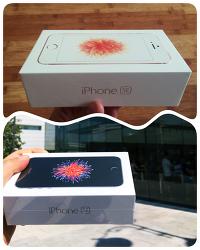 [Apple] iPhone SE 개봉기: 스페이스 그레이와 로즈 골드