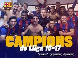 바르셀로나 B 세군다B 그룹 3 우승 및 이후 일정