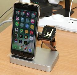 벨킨 Valet 애플워치 아이폰 충전 거치대 독 사용기