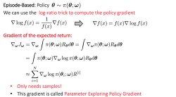 Policy Gradient Methods to Actor Critic Model