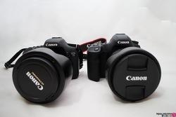 캐논 5D Mark3와 7D 크기 및 외관 간단 비교