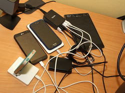 6포트 USB 충전기 와사비망고 EQ 6포트 50W LCD 멀티충전기