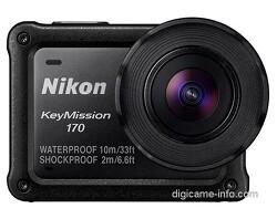 니콘 키미션 360 액션캠 스펙 및 디자인