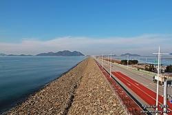 전북 최고의 드라이브 코스, 33km 새만금방조제를 달려보자!