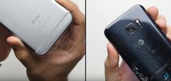 아이폰6S와 갤럭시S7의 끝장 드롭 테스트 대결, 결과는?