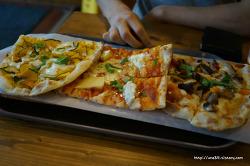 이태원 맛집 피자집 맛있는 화덕피자 트레비아