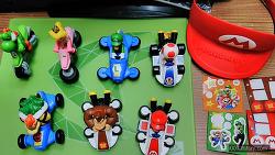 2015년 12월 맥도날드 해피밀 장난감 마리오카트 8 인증샷 (Mario Kart HAPPY MEAL)