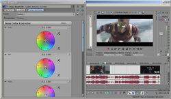 베가스 영상 밝기, 베가스 동영상 채도 농도 색감 보정 조절 방법