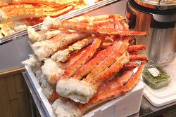 오사카 맛집들이 모여있는 먹거리 천국 '구루몬시장'