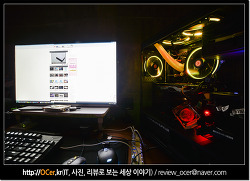 화려한 튜닝 컴퓨터케이스 위한 써멀테이크 Riing 12 LED RGB 256 Colors 아스크텍