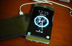 삼성 트레이 디자인 무선 충전기 사용 후기