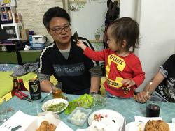 한국여행 - 사촌형과 저녁, 3대의 외출!