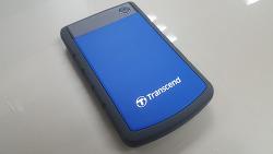 트랜센드 : StoreJet 25H3 외장하드 유틸리티 사용기!
