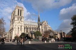 프랑스 여행〃파리 제1의 관광지 노트르담 성당