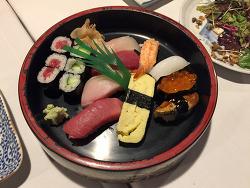 LA 재팬타운 '리틀도쿄(Little Tokyo)'의 유명한 스시집, 스시겐(Sushi Gen)에서 10년만에 만난 친구