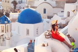 그리스 산토리니 여행(14), 찍으면 화보집이 되는 이아마을과 불타오르는 선셋