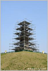 충북 충주 탑평리칠층석탑(중앙탑)