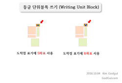 동글(Dongul) - 단위블록 쓰기(Writing Unit Block) - 기초 2